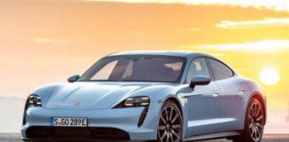 Modification of Porsche Taycan that sounds like a 911