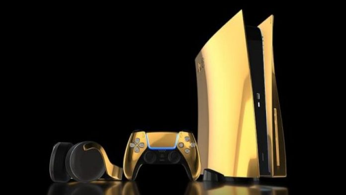 24k Gold PS5